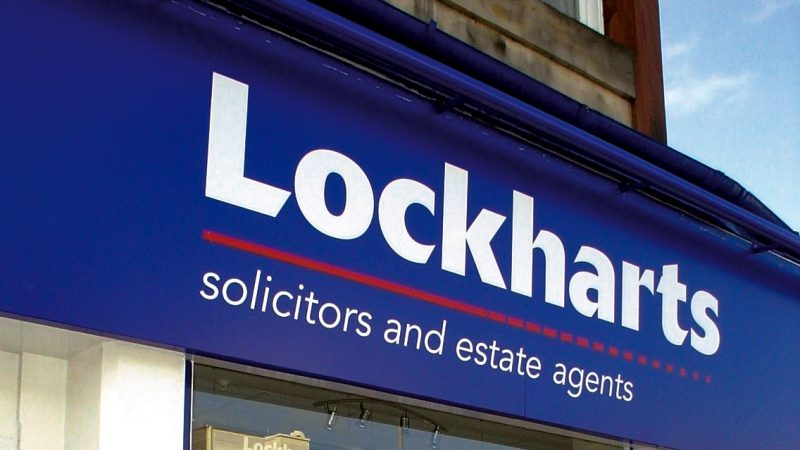 Lockharts Fascia Printed Signage