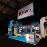 Matrix Exhibition Stand Graphics