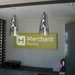 Merchant Homes Illuminated Logo