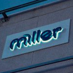 Miller Homes Illuminated Office Signage