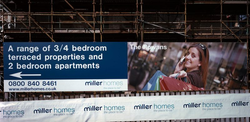 Miller Homes Banner Hoarding