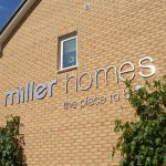 Miller Homes Gable End Stainless Steel Letters