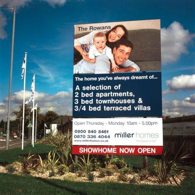 Miller Homes Stack Signage
