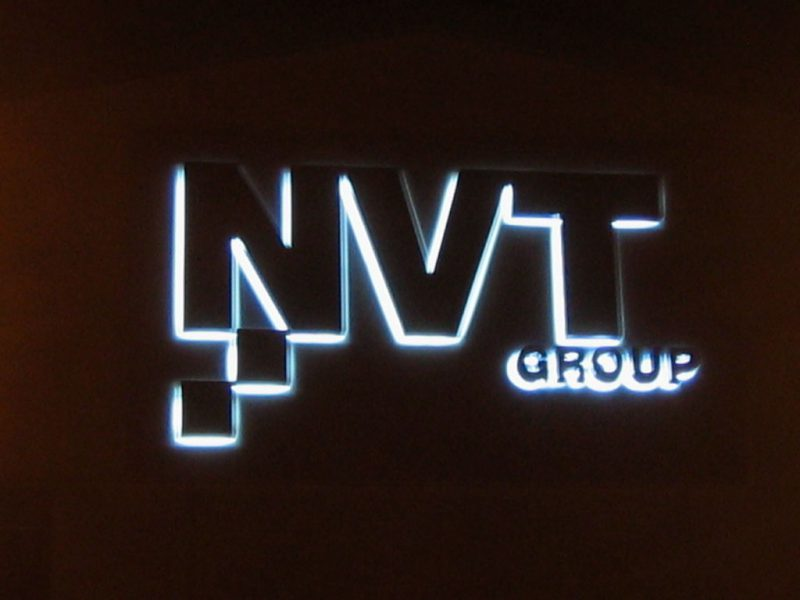 NVT Illuminated Sign