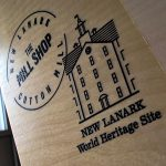New Lanark World Heritage Direct To Wood Print