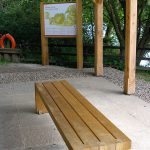 Bespoke Oak Bench at Haddo