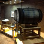 Tasting Room Cask Display with Lightbox