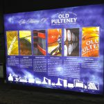 Old Pulteney Distillery Illuminated Lightbox