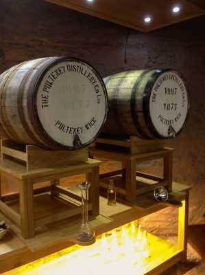Old Pulteney Tasting Room Casks
