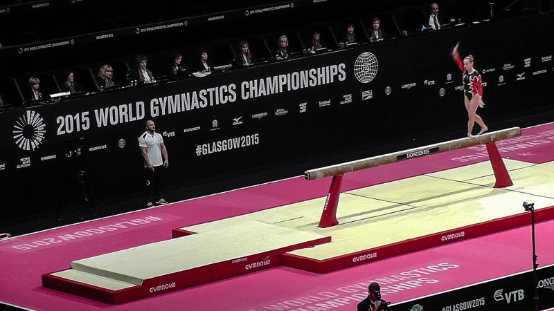 Perimeter Backdrop for World Gymnastics Championships