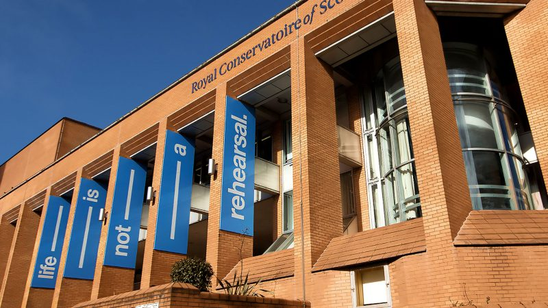 Royal Scottish Conservatoire Metal Letters, Logo and Banners