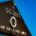 Scotts Restaurant 3D Fascia Metallic Letters and Logo