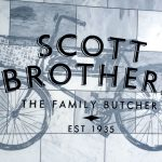 Scott Brothers Sign Writing on Marble Wall