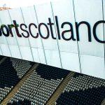 Sportscotland Flat Cutout Acrylic Raised Letters