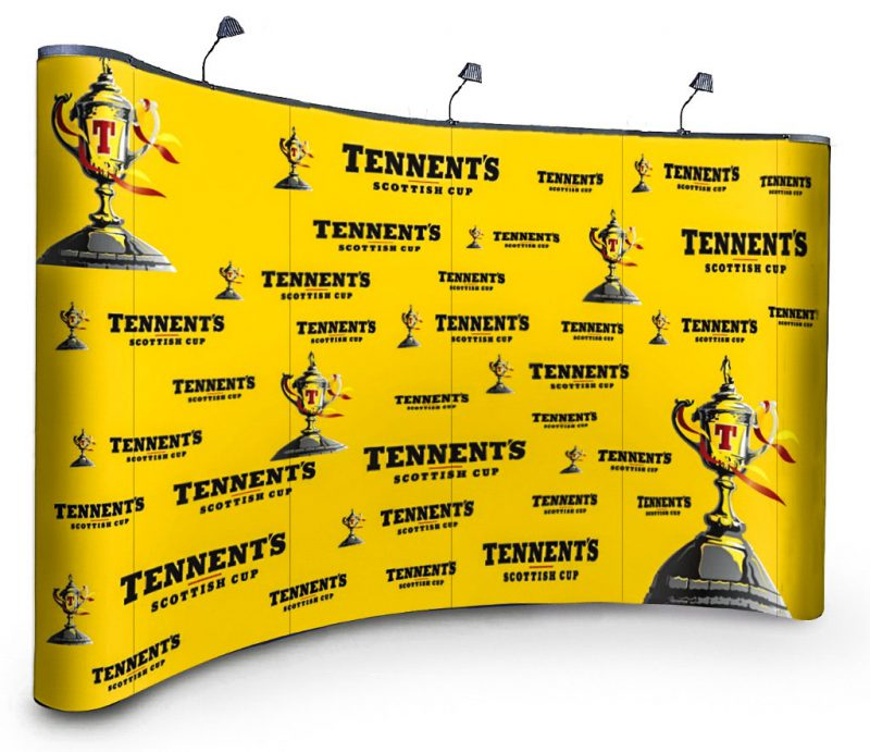 Tennents Pop Up Display Stand