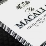 The Macallan Digitally Printed Illuminated Logo and Brand Pattern