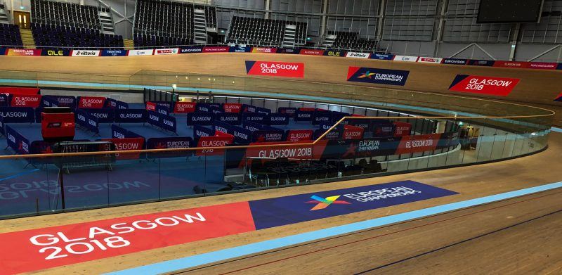 Track Cycling Branding Glasgow 2018