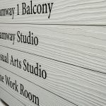 Tramway Theatre Digitally Printed Wooden Sign
