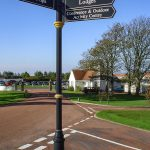 Turnberry Golf Course Customised Directional Pole Sign