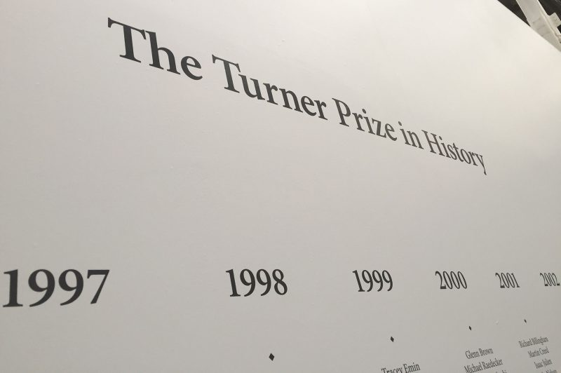 Digital Wallpaper Detail for The Turner Prize Timeline