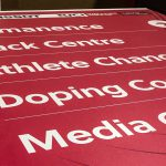 Track Cycling World Cup Wayfinding Signs