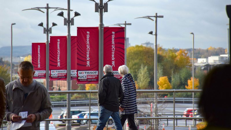 Track Cycling World Cup Lamppost Banners