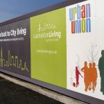 Urban Union Branded Hoarding