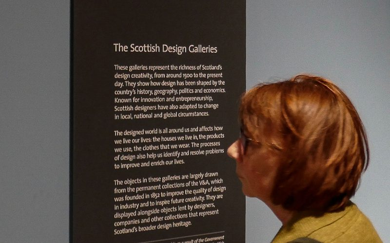 V&A Dundee Interpretative Panels
