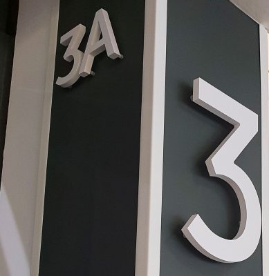 3D Letters in SEC Campus