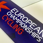 Large Vinyl Graphic for European Cycling Championships