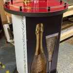 Vom Fass Point Of Sale Bespoke Podium