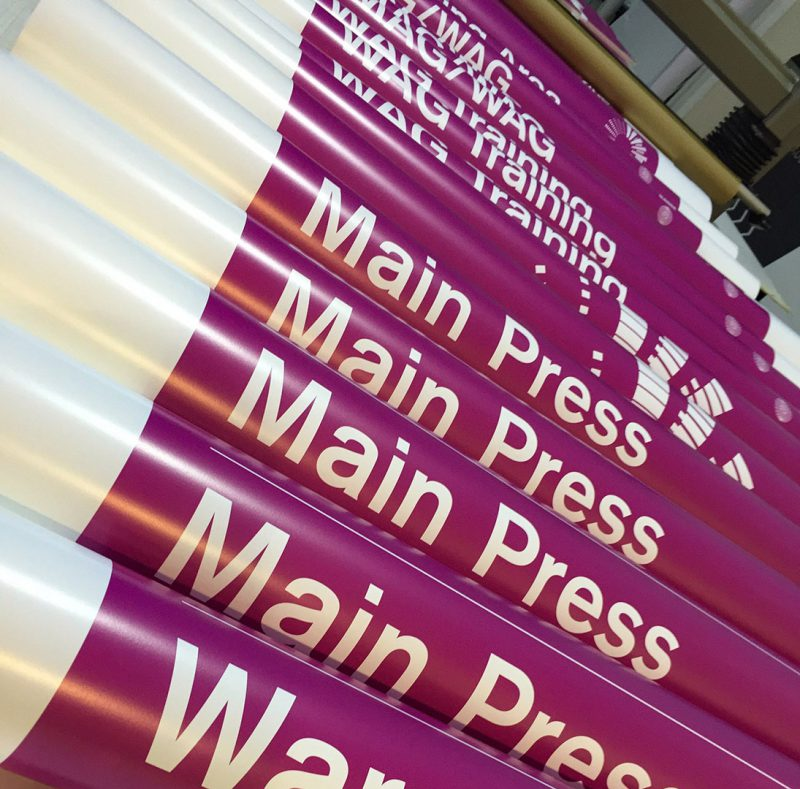 WGC 2015 Directional Signs in Production