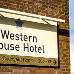 Western House Illuminated ACM Sign