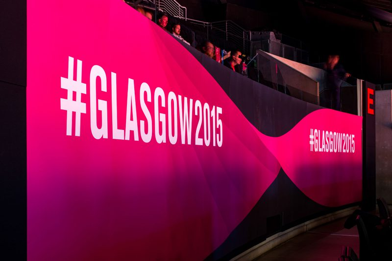 Iconic Branding for World Gymnastics Championships Glasgow 2015