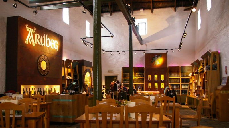 Ardbeg Retail Shop Distillery Visitor Centre