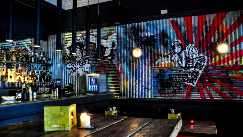 Bar Fit-out and Graphics