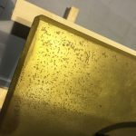 Brass Fabricated Plinth