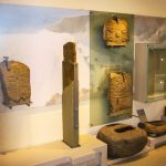 Exhibit of Ancient Stones at Whithorn Priory Museum