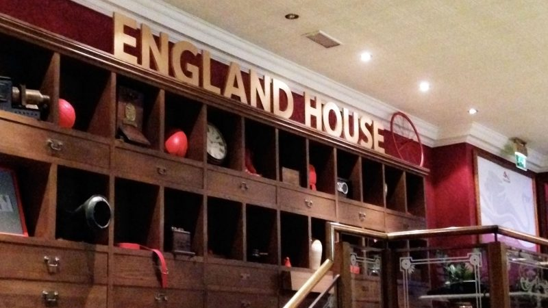 Team England Bar Fit Out