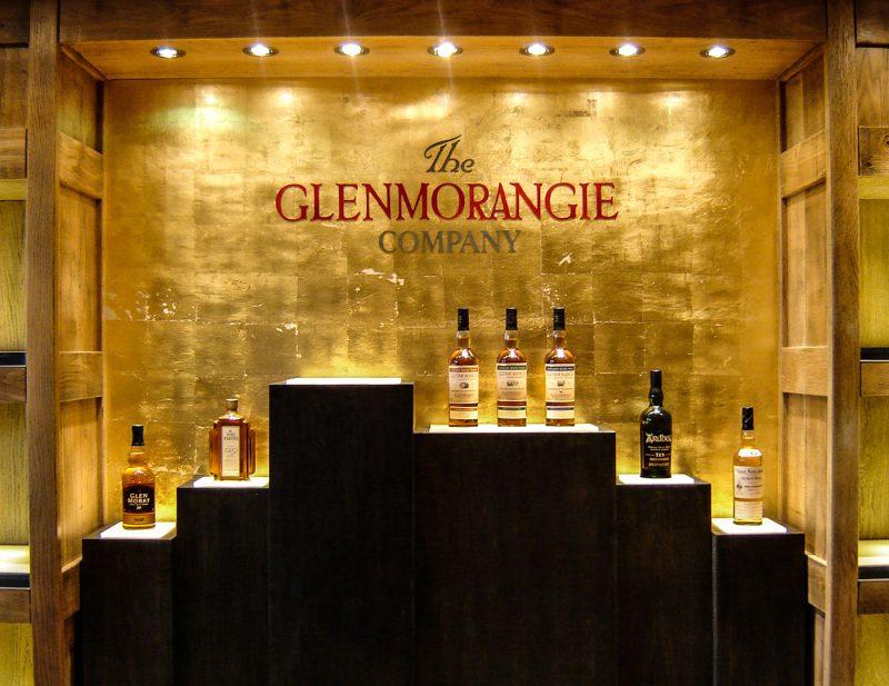 Glenmorangie Display in Distillery Visitor Centre Shop