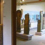 Bespoke Plinths for Standing Stones in Museum