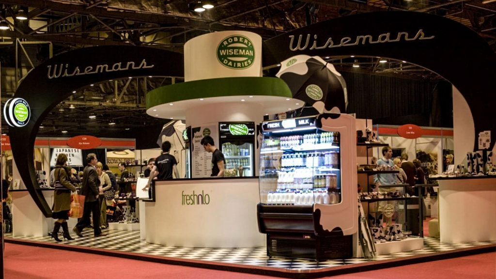 Exhibition Stand Contractors Glasgow : Large exhibitions and trade show stands by evm