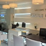 Glass Office and Property Marketing Suite Reception