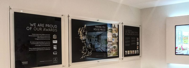 Information Panels in Property Marketing Suite