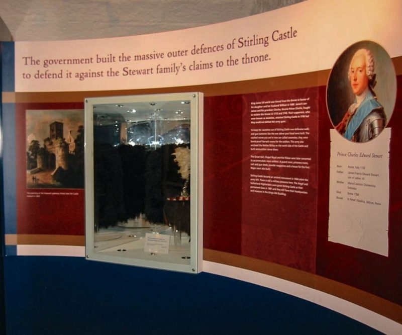 Stirling Castle Display Graphics