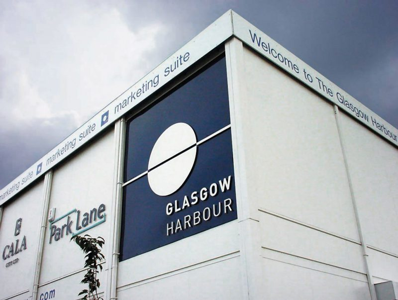 Glasgow Harbour Fascia