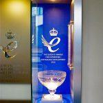 Queen's Awards Bespoke Trophy Display Case