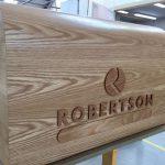Robertson Group Bespoke Oak Plinth (Detail)