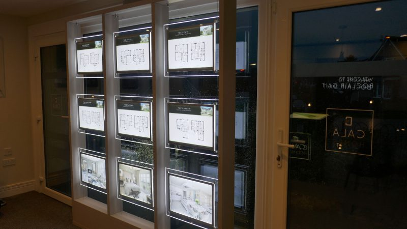 Illuminated Window Display