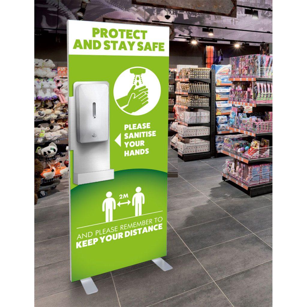 Free Standing Hygiene Station Basic